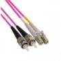 Волоконно-оптические патч-корды многомодовые 50/125 (OM4) LC-ST Hyperline