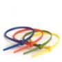 Стяжки пластиковые неоткрывающиеся, нейлон ширина до 3,7 мм DKC/ДКС