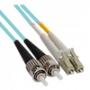 Волоконно-оптические патч-корды многомодовые 50/125 (OM3) LC-ST Hyperline