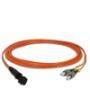 Волоконно-оптические патч-корды многомодовые 62.5/125 (OM1) MTRJ-FC Hyperline