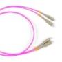 Волоконно-оптические патч-корды многомодовые 50/125 (OM4) SC-SC Hyperline
