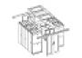 Крыша секции коридора глухая (оргстекло) NTSS
