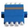 Оптические проходные адаптеры одномодовые quadro Hyperline