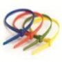 Стяжки пластиковые неоткрывающиеся, нейлон ширина до 4,8 мм DKC/ДКС