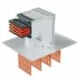 Шинопроводы с медными проводниками 3P + N + Pe 1600 A
