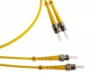 Волоконно-оптические патч-корды одномодовые 9/125 (OS2) duplex ST-ST Hyperline