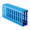 DKC / ДКС 00228RL RL12 25x40 Короб перфорированный в комплекте с крышкой, синий (цена за 1 метр)