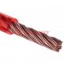 """Кабель силовой  """"Power Cable"""" 1х6мм, красный, 50м., d 6,0 мм. REXANT"""