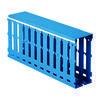 DKC / ДКС 01168RL RL12 80x80 Короб перфорированный в комплекте с крышкой, синий (цена за 1 метр)
