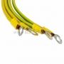 Набор кабелей заземления (30см - 4 шт) REXANT