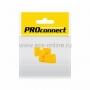 КОЛПАЧЕК для 8P8C желтый PROCONNECT Индивидуальная упаковка 2шт