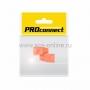 КОЛПАЧЕК для 8P8C оранжевый PROCONNECT Индивидуальная упаковка 2шт