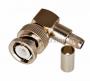 Разъем штекер BNC RG-58 обжим Угловой (01-005A) (100шт) REXANT
