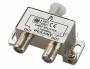 ДЕЛИТЕЛЬ ТВ х 2 под F разъём 5-1000 МГц REXANT (Цена за шт., в уп. 10 шт.)