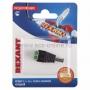 Разъем питание на кабель, штекер 2,1х5,5x10мм. с клеммной колодкой, (1шт.)  REXANT