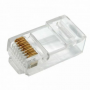 Rexant Разъем сетевой LAN на кабель, штекер 8Р8С (Rj-45) под обжим, категория 6, (10шт.)