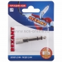 Переходник аудио (штекер 6,3 мм стерео - гнездо 3,5мм стерео), металл, (1шт.)  REXANT