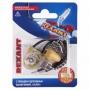 Выключатель для настенного светильника c проводом и деревянным наконечником, Silver, (1шт.)  REXANT