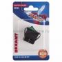 Выключатель клавишный 250V 16А (4с) ON-OFF зеленый  с подсветкой (RWB-502, SC-767, IRS-201-1)  REXANT (в упак. 1шт.)