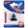 Выключатель-кнопка 250V 1А (2с) ON-OFF  черный  (PBS-17A2) (для настольной лампы)  REXANT (в упак. 1шт.)