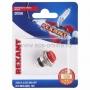 Выключатель-кнопка  металл 220V 2А (2с) (ON)-OFF  O16.2  красная  (RWD-306)  REXANT (в упак. 1шт.)