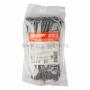 Хомут-стяжка кабельная нейлоновая REXANT 100 x2,5 мм, серая, упаковка 100 шт.