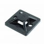 Площадка самоклеящаяся REXANT 30х30 мм, черная, упаковка 10 шт.