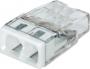 Электромонтажные экспресс-клеммы 2273-202 (2*2.5мм2) WAGO (Цена за шт, в уп-ке 100 шт)