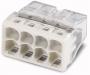 Электромонтажные экспресс-клеммы 2273-208 (8*2.5мм2) WAGO (Цена за шт, в уп-ке 50 шт)