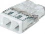 Электромонтажные экспресс-клеммы 2273-242 (2*2.5мм2 с пастой) WAGO (Цена за шт, в уп-ке 100 шт)