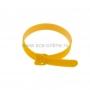 Хомут–липучка многоразовый 230х13 мм, желтый (упак. 12 шт.) REXANT