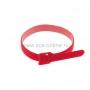 Хомут–липучка многоразовый 320х14 мм, красный (упак. 12 шт.) REXANT