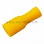 Клемма плоская полностью изолированная (гн-6.6мм) 4-6мм (VF5.5-250A) REXANT (Цена за шт., в уп. 100 шт.)