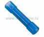 Соединительная гильза изолированная L-27.3мм, нейлон 1.5-2.5мм (BNY-2), синий REXANT (Цена за шт., в уп. 100 шт.)