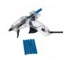 Клеевые стержни REXANT, O11 мм, 100 мм, синие, 6 шт., блистер