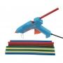 Клеевые стержни REXANT, O11 мм, 270 мм, цветные, 10 шт., хедер