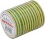 Изолента 19мм х 25м желто-зеленая REXANT (Цена за шт, в уп 5 шт)