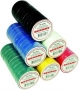 Изолента 15мм х 20м зеленая REXANT (Цена за шт, в уп 10 шт)