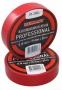 Изолента профессиональная 0.18 х 19 мм  х 20м красная REXANT (Цена за шт, в уп 10 шт)