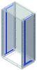 Стойки вертикальные, для шкафов Conchiglia В=490мм DKC/ДКС