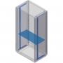 Полка для шкафов Conchiglia, Ш=580 мм, Г= 330мм DKC/ДКС