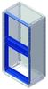 Рамка для накладной панели, Conchiglia,  ВхШ: 1390 x 580 мм DKC/ДКС