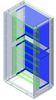 Комплект для крепления монтажной платы к монтажной раме, Сonchiglia, шкаф 1390 х 580 х 330 мм DKC/ДКС