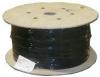 Кабель витая пара, экранированная S-FTP, категория 5e, 4 пары, одножильный (solid), экран - фольга + медная оплетка, PVC Nexans