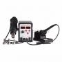 Паяльная станция (паяльник + термофен) с цифровым дисплеем 150-500°С (R898D) REXANT