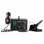 Паяльная станция (паяльник + термофен) с цифровым дисплеем 100-480°С (R852AD+)