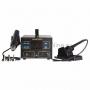 Паяльная станция (паяльник + термофен) с ЖК дисплеем 100-500°С (R887D) REXANT