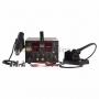 Паяльная станция (паяльник + термофен + источник питания)  3 в 1 100-480°С (R5000) REXANT