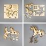 Доска для выжигания 3D 1 шт. «Единорог на колесиках» REXANT
