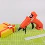 Пистолет клеевой REXANT, 10 Вт, O7 мм, «ЭКСПЕРТ», аккумуляторный, блистер